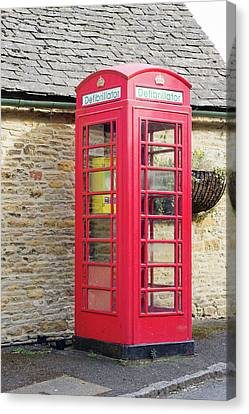 Defibrillator Station Canvas Print by Tom Gowanlock