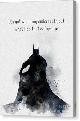 Definement Canvas Print by Rebecca Jenkins