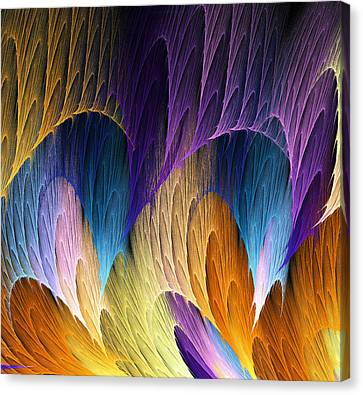 Defying The Law Of Gravity Canvas Print by Lea Wiggins