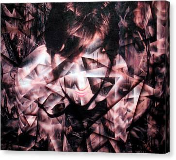 Deirdre Shattered Canvas Print by Leigh Odom