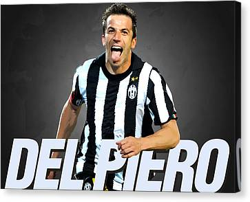 Del Piero Canvas Print