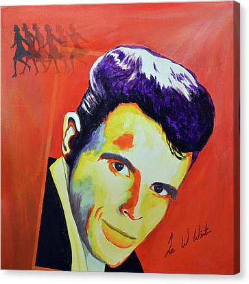 Canvas Print - Del Shannon by Lee Wolf Winter