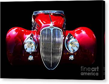 Delahaye Reinterpreted Canvas Print by Wingsdomain Art and Photography