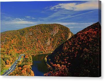 Canvas Print - Delaware Water Gap 2 by Raymond Salani III
