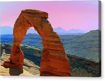 Delicate Arch  --  Arches National Park Canvas Print