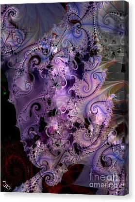 Delicate Lavender Forms Canvas Print