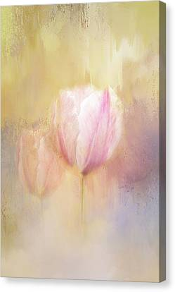 Delicate Pink Spring Canvas Print