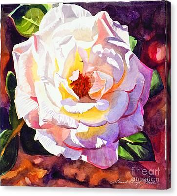 Delicate Princess Rose Canvas Print