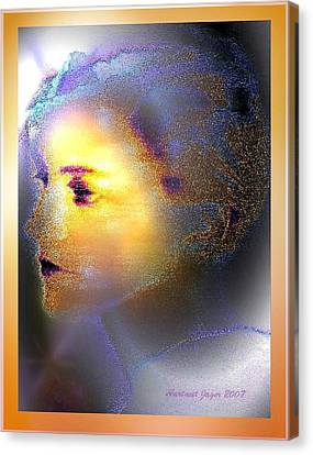 Delicate  Woman Canvas Print by Hartmut Jager