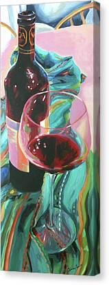 Delight Canvas Print by Trina Teele