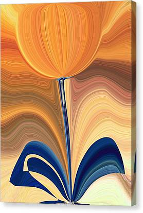 Delighted Canvas Print by Tim Allen