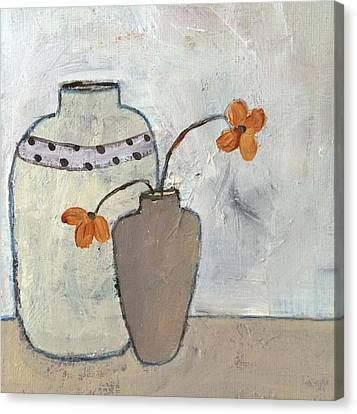 Delightful Canvas Print by Judy Jacobs