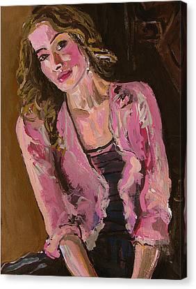 Delikate Canvas Print by Adam Kissel