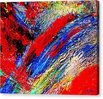 Delirium Canvas Print by Michael Durst