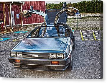 Delorean Canvas Print by Douglas Miller