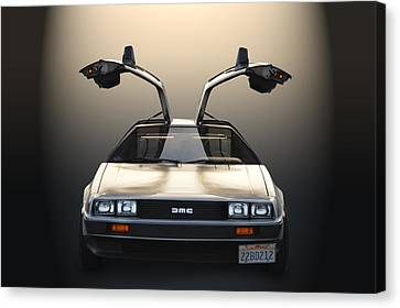 Delorean Motor Company Canvas Print by Bill Dutting