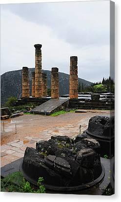 Delphi 01 Canvas Print by Manolis Tsantakis