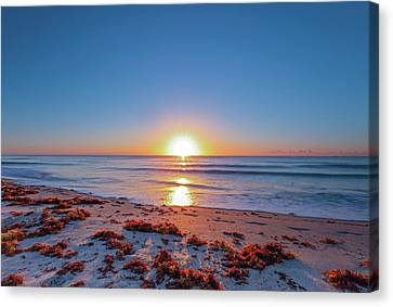 Delray Beach Sunrise Canvas Print by Juergen Roth