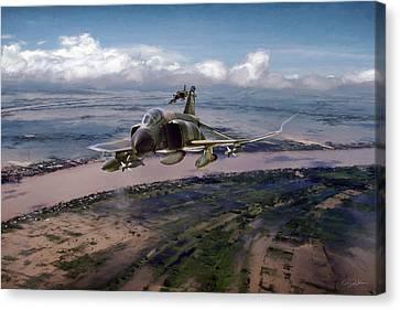 Delta Deliverance Canvas Print by Peter Chilelli
