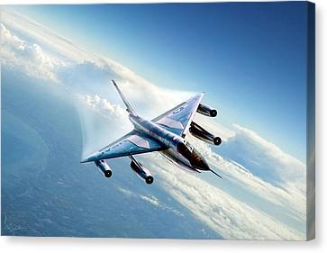 Delta Wing Wonder Canvas Print