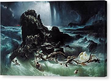 Deluge Canvas Print