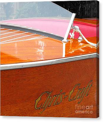 Chris Craft Deluxe Canvas Print