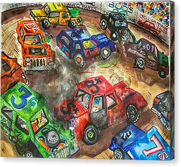 Demo Canvas Print - Demo Derby One by Jame Hayes