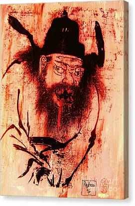 Demon Queller Canvas Print by Roberto Prusso