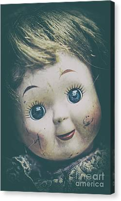 Chucky Canvas Print - Demons Inside by Evelina Kremsdorf