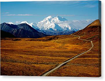 Denali Canvas Print by Graham Clark