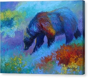 Denali Canvas Print - Denali Grizzly Bear by Marion Rose