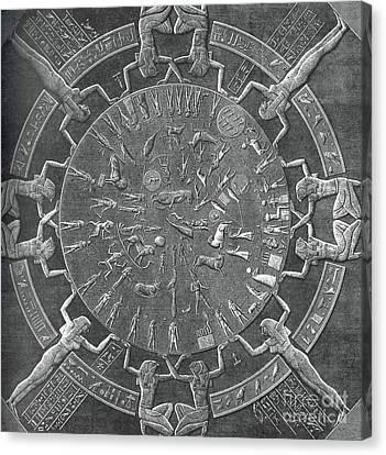 Dendera Canvas Print - Dendera Zodiac by Science Source