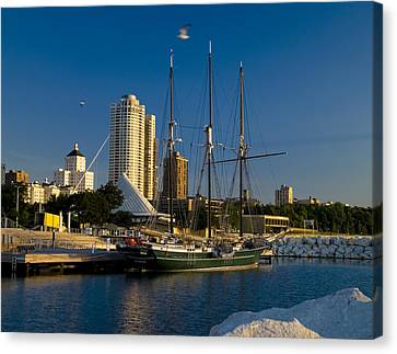 Canvas Print featuring the photograph Denis Sullivan by Peter Skiba