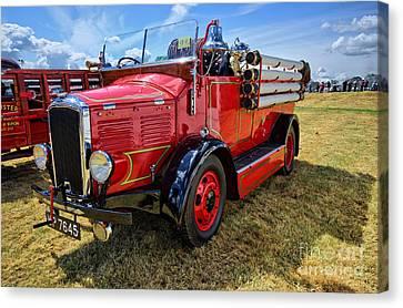 Dennis Fire Engine Canvas Print by Nichola Denny