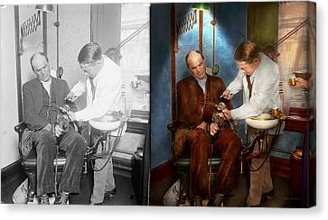 Dentist - Monkey Business 1924 - Side By Side Canvas Print
