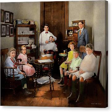 Canvas Print - Dentist - The Family Practice 1921 by Mike Savad