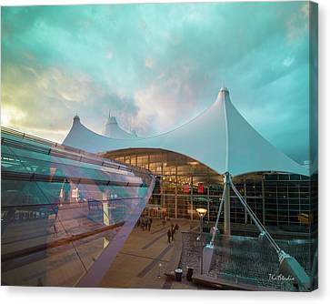 Denver International Airport Canvas Print
