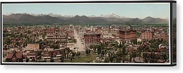 Denver, Colorado, Photochrom By William Canvas Print by Everett