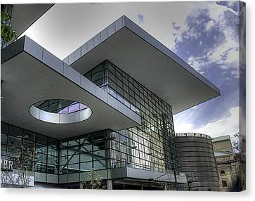 Denver Convention Center Canvas Print by David Bearden