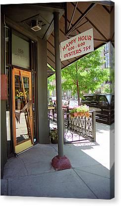 Denver Happy Hour Canvas Print by Frank Romeo
