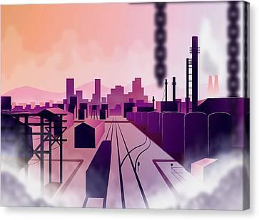 Denver Industries Canvas Print