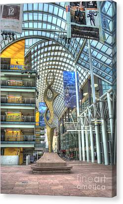 Denver Performing Arts Center Canvas Print by Juli Scalzi