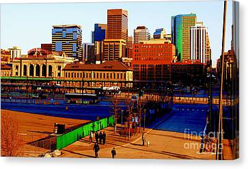 Denverscape II Canvas Print
