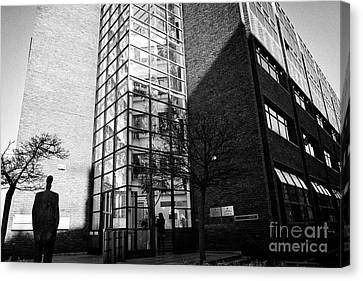 department of social protection and department of jobs enterprise and innovation earlsfort centre Du Canvas Print by Joe Fox