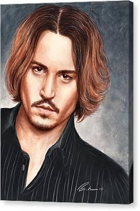 Depp Canvas Print by Bruce Lennon