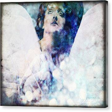 Depression Angel Canvas Print
