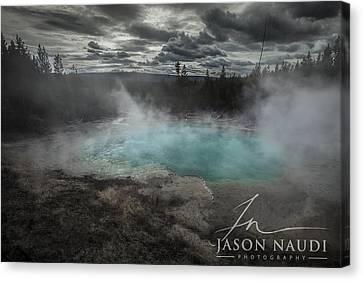 Canvas Print featuring the photograph Depth by Jason Naudi
