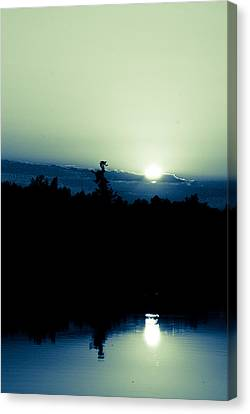 Wisconsin Canvas Print - Depth Of His Own Nature by Laura Pineda