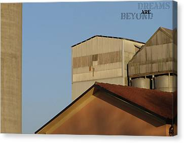 Derams Are Beyond Canvas Print by Alberto Catellani