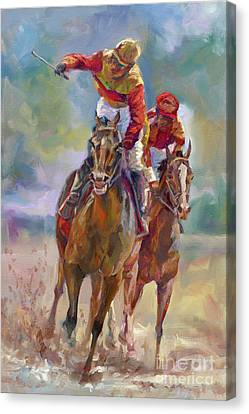 Derby Winner Canvas Print
